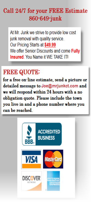 Free Quote for Junk Removal Services